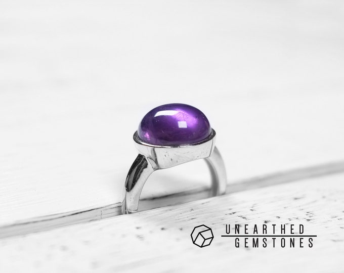Size 6 Amethyst Ring