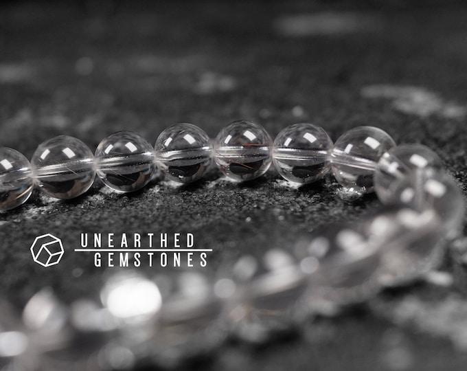 Minimalist Rutilated Quartz Bracelet