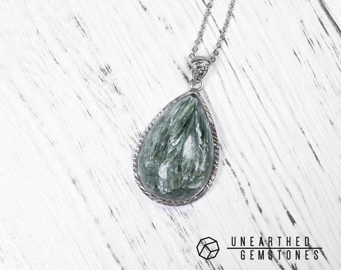 Seraphinite Necklace