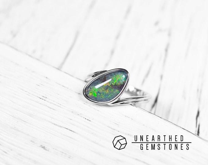 Size 7 Opal Ring 18mar703