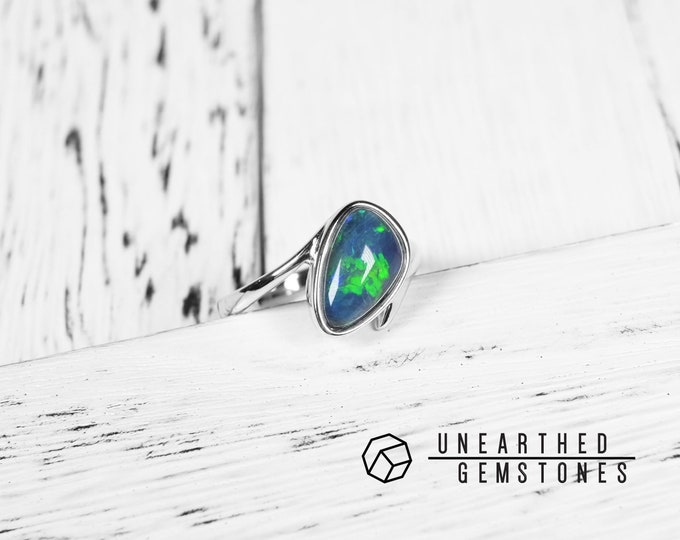 Opal Ring Size 6.5 17sep6503