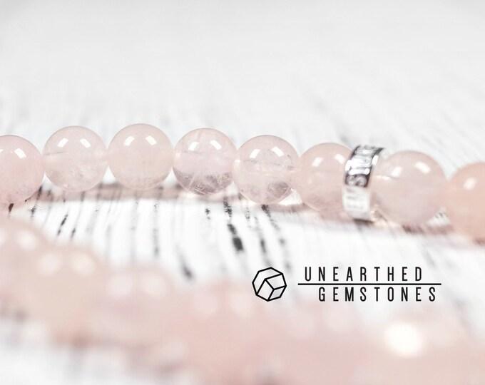 Translucent Morganite Bracelet