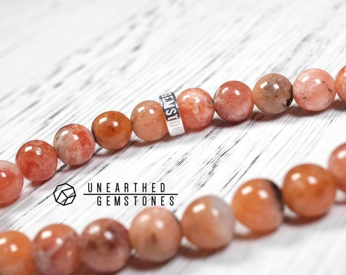 Lithiophilite Bracelet