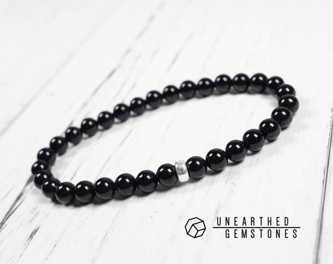 6mm Black Tourmaline Bracelet