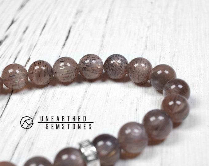 Dark Brown Sunstone Bracelet