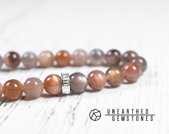Bicolor Sunstone Bracelet