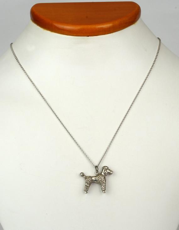 Antique Necklace - Antique 1920's Sterling Silver