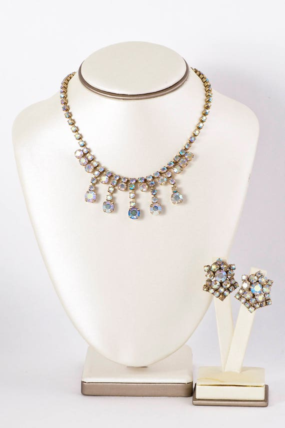 Vintage Set - Vintage Rhinestone Costume Jewelry N