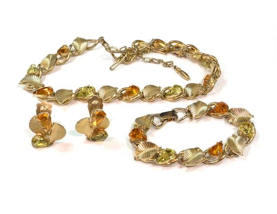 """Vintage Jewelry Set - Vintage 1960s Designer """"Coro"""