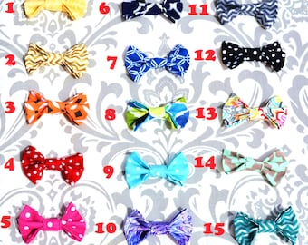 Interchangeable Baby Boy Snap on Bowtie