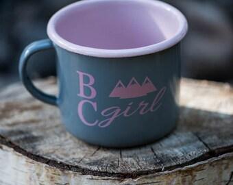 BC Girl Camping Mug