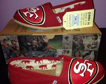 49ers Toms - version rouge