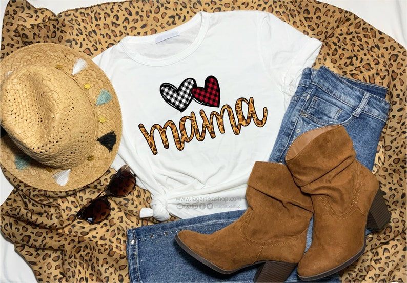 Cheeta Super Mama Sublimation PNG Image Mother's Day image 0