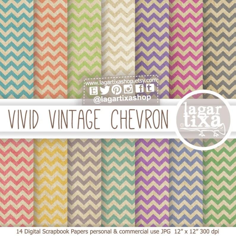 Vintage Old grunge Digital Paper Shabby Pink Beige Old blue image 0