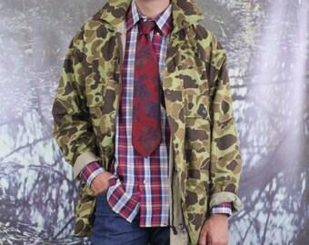 Duck Camo Nylon Jacket (M)
