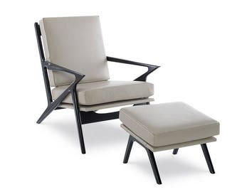 Midcentury Modern Chair and Ottoman  MOD - 112