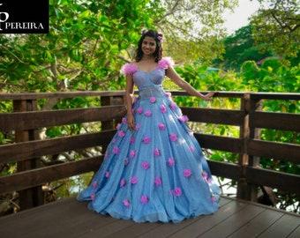86166246cc Disney Princess Blue Ball Gown