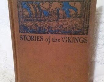 book Children Stories of the Vikings Maurice Dunlap Tenggren
