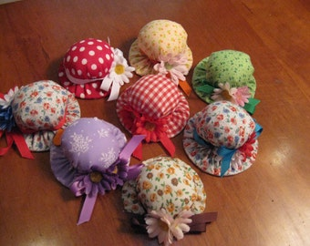 Derby Hat Pincushion