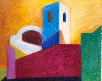 ART PRINT - Badia Camaldolese - Volterra #2 - Limited Edition
