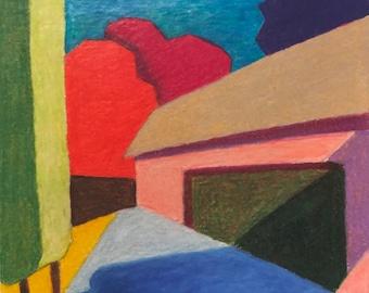 ART PRINT - At Casallario - Volterra #6 - Limited Edition