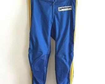 fb576e09bbc15 30% ON SALE Kushitani Pants Vintage Kushitani Motocross Racing Pants Rare