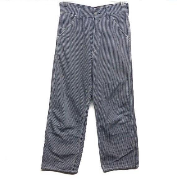 Vintage 45rpm Hickory Denim Jeans Cafe Racer Workw