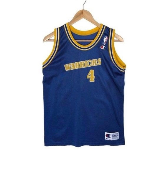 Vintage Chris Webber Golden State Warriors Jersey