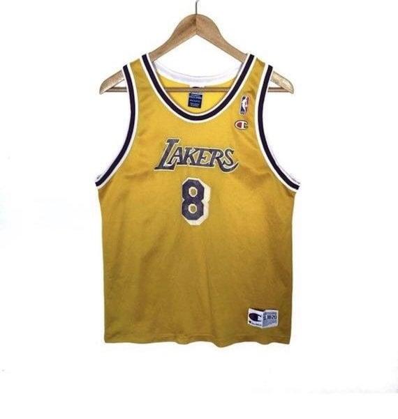 Kobe Bryant Jersey Vintage Champion Los Angeles La
