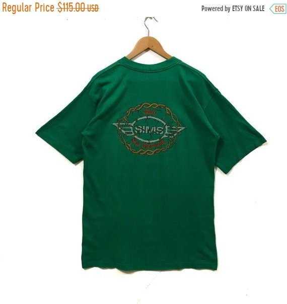 50% MEGA SALE Vintage Sims Skateboarding T Shirt S