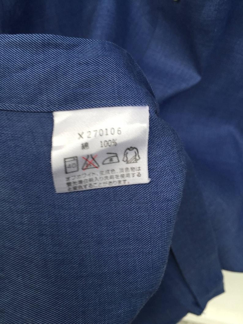 MEGA SALE 30/% Vintage Yohji Yamamoto A.A.R Durban Made in Japan Button Down Shirt Rare