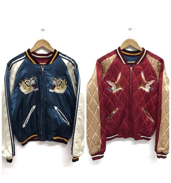 50% MEGA SALE Sukajan Jacket Vintage Sukajan Tige… - image 2
