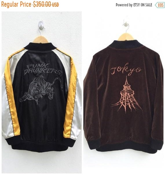 50% MEGA SALE Sukajan Jacket Vintage Sukajan Punk