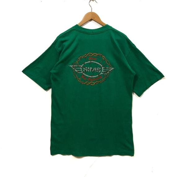 Vintage Sims Skateboarding T Shirt Skate Skateboar