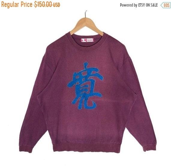 MEGA SALE 50% Vintage Kansai Eye Sweatshirt Kansai