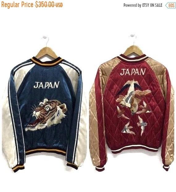 50% MEGA SALE Sukajan Jacket Vintage Sukajan Tige… - image 1
