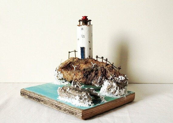 Unique Gifts Driftwood Lighthouse Home Decor Driftwood