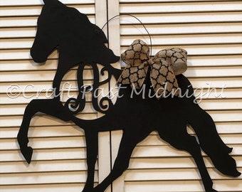 Monogram Tennessee Walking Horse Door Hanger
