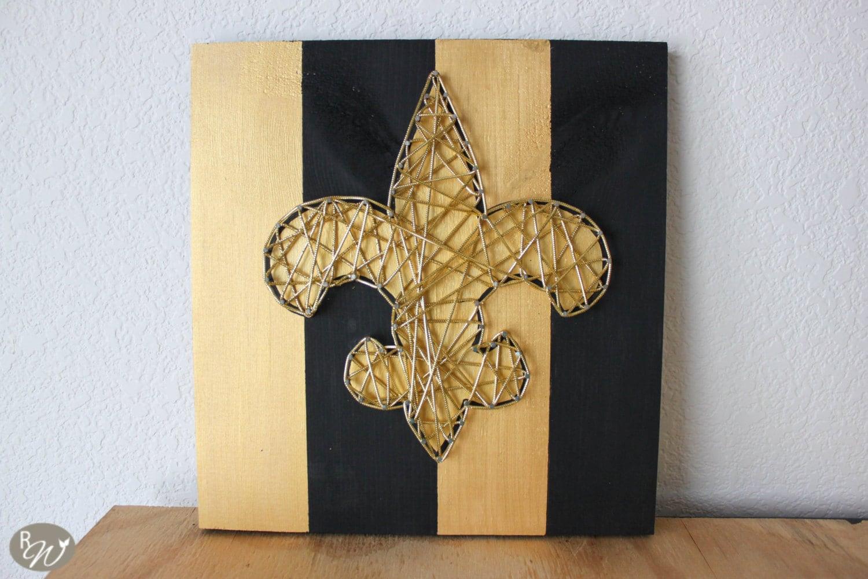 New Orleans Saints String Art New Orleans Art New Orleans