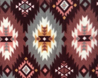 Rosewood Fleece (anti-pill) - Pillow Cover Only (teepee NOT included)