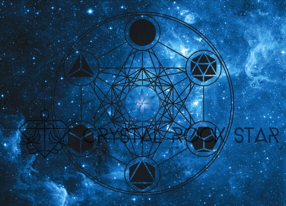 solid glass balls decorative.htm platonic solids galaxy crystal grid card space starseed etsy  platonic solids galaxy crystal grid