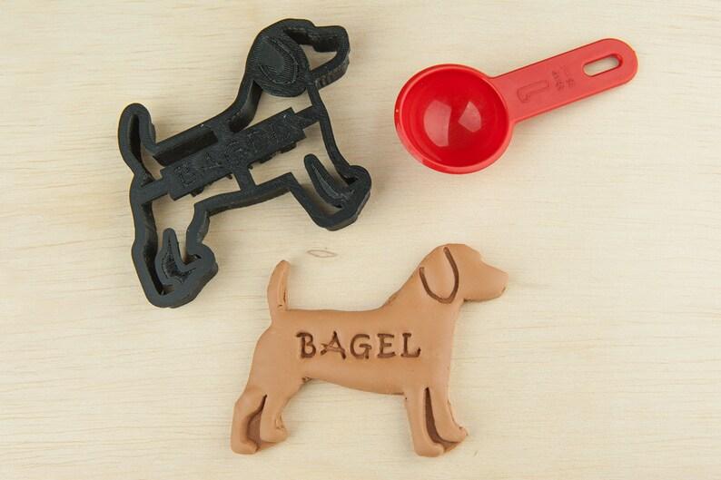 a8e9a8c8e848 Beagle Dog Cookie Cutter Custom Treat Personalized Pet