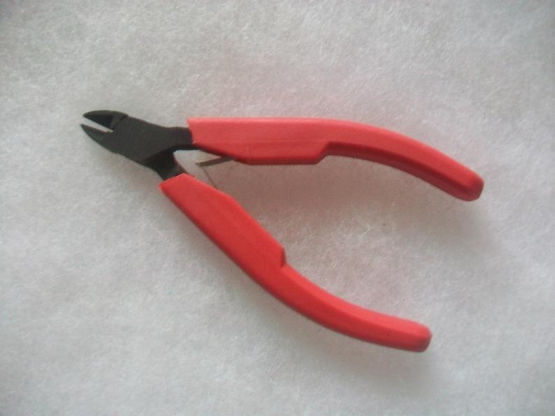 Semi Flush Cut Plier 4\u201d  Mini Plier Wire Cutting Pliers