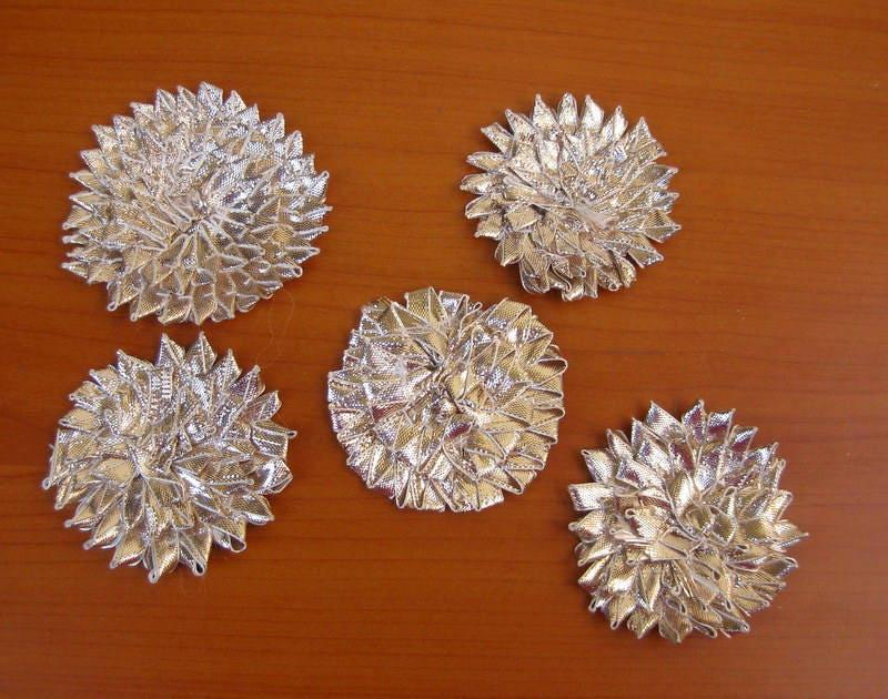 10 10 10 pcs. Gota fleurs / fleurs / déco appliques / couture appliques correctifs. edf0c4