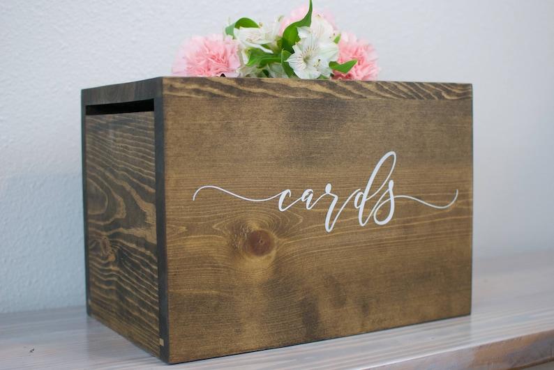 Wedding Card Holder.Card Box With Lock Wedding Card Box Wedding Money Box Rustic Wedding Card Box Card Holder Card Box With Slot Wedding Card Holder