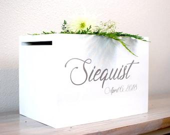 Wedding Card Box silver, rustic wedding, card box, card box for wedding, wedding card holder, card holder, luxury wedding, boho wedding