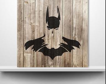 Superhero Painting Etsy