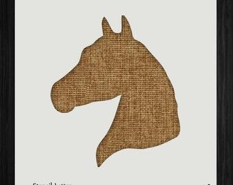 Horse stencil | Etsy