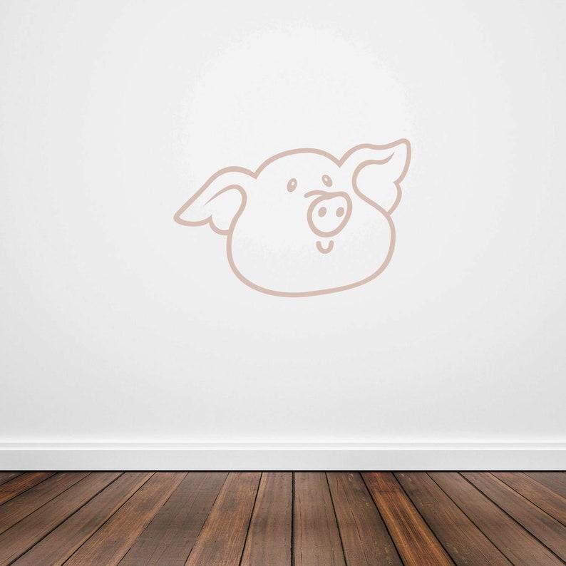 Pig ID 1874466 Crafts Walls Stencil Plastic Mylar Stencil for Painting Signs