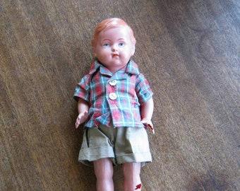 Homemade Doll Clothes-SMORES Print Sleeping Bag for Ken,Barbie,Elf Doll